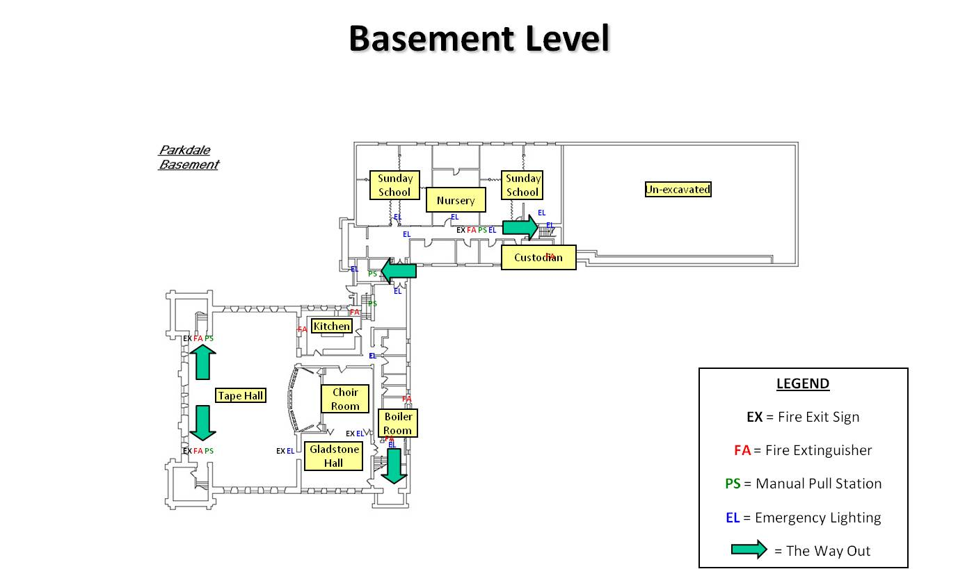 Parkdale Basement Floor Plan