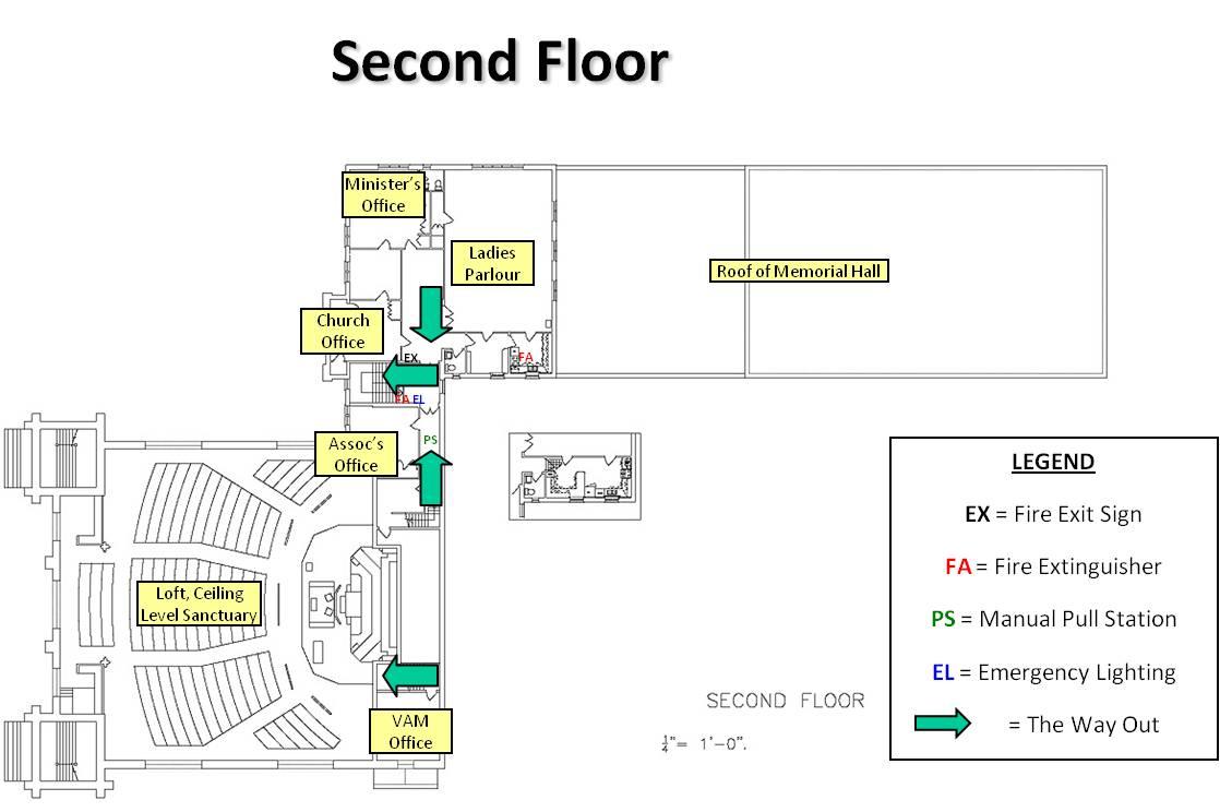 Parkdale Second Floor Plan
